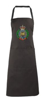 Royal Engineers Embroidered Apron